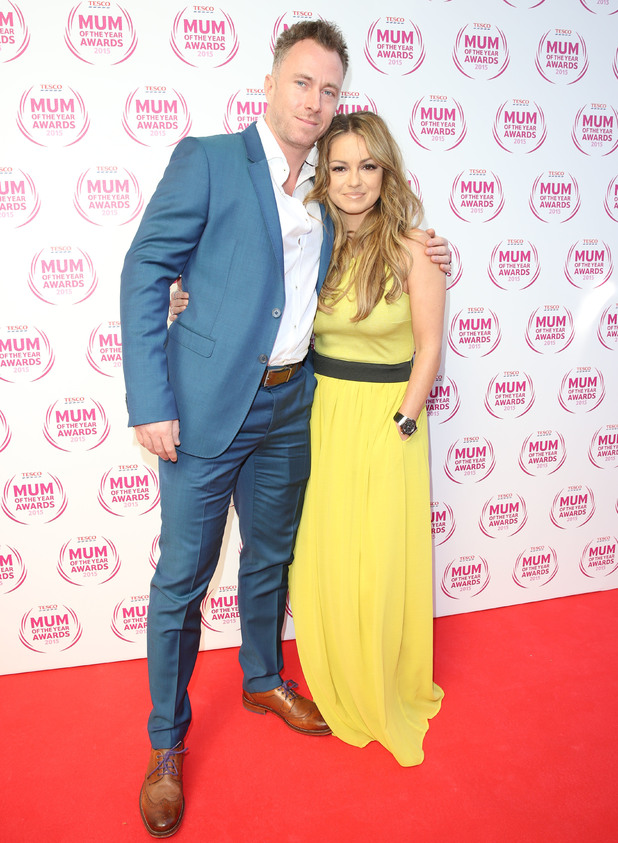 Ola and James Jordan attend Tesco's Mum Of The Year Awards, The Savoy, London 1 March