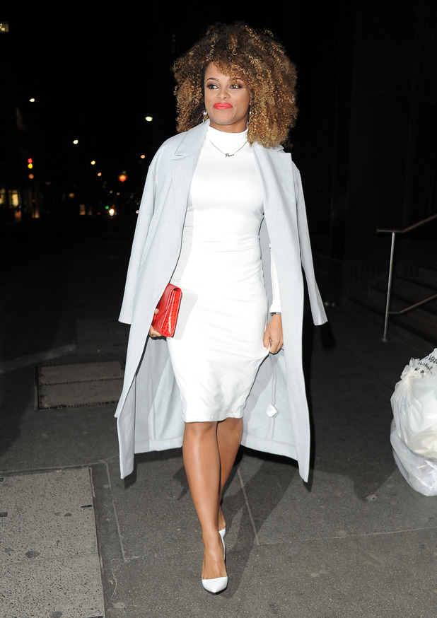 Fleur East at The Sun Bizarre Party hosted by Dan Wootton at Steam & Rye - 03/02/2015.
