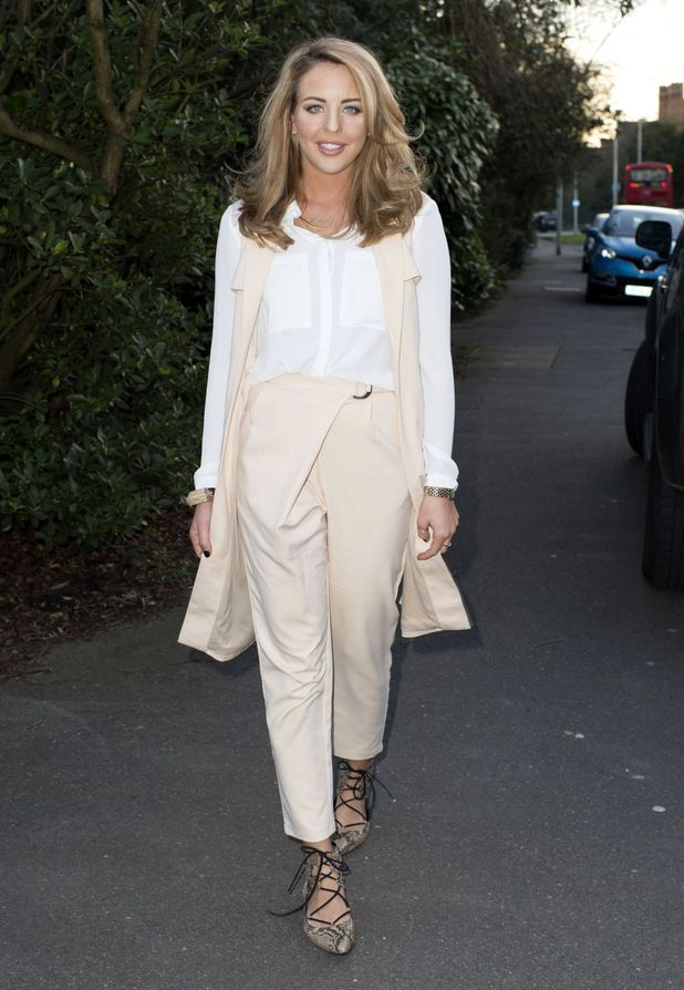 Lydia Bright steps out in chic co-ord look in Essex (2 March)