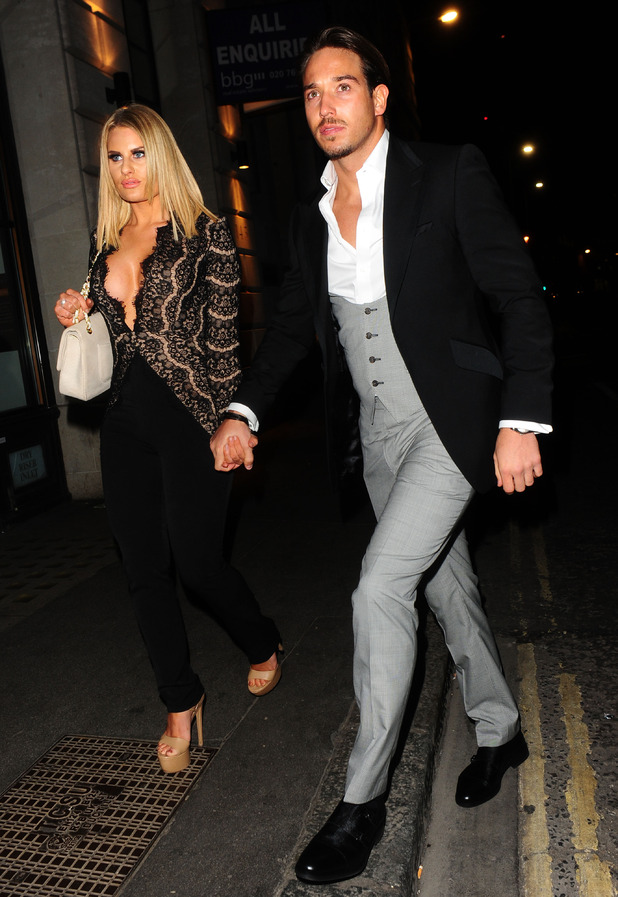 TOWIE's Danielle Armstrong and James 'Lockie' Lock at The Sun Bizarre Party, London, Britain - 02 Mar 2015.