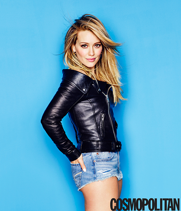 HILARY DUFF COVERS APRIL ISSUE OF COSMOPOLITAN Issue on newsstands 3/10