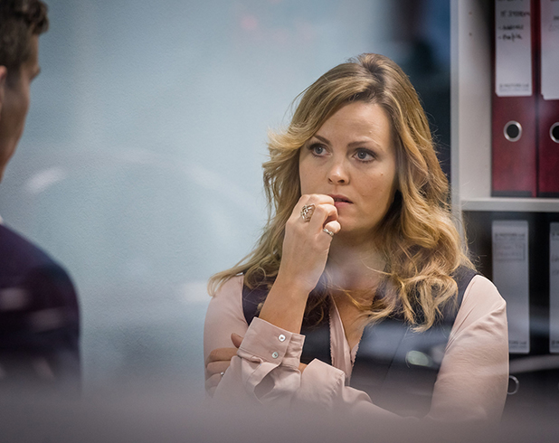 Ordinary Lies shot from episode one: Jo Joyner