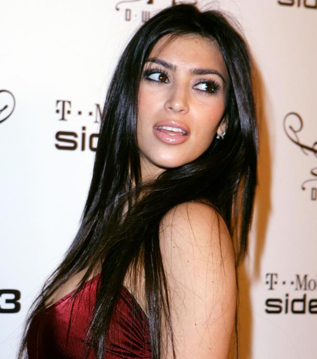 Kim Kardashian at T-mobile event in Las Vegas on 17 February 2007