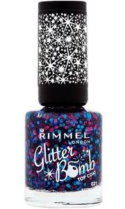 Rimmel London Glitter Bomb Nail Polish in Bedazzle