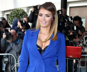 TOWIE star Chloe Sims attends TRIC Awards, Grosvenor House Hotel, London 10 March