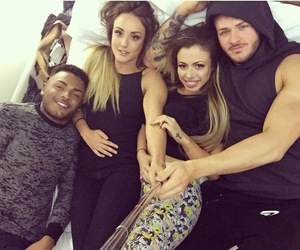 Holly Hagan, Charlotte Crosby, Nathan Henry and Kyle Christie, Twitter 11 March