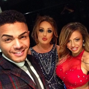 Nathan Henry, Charlotte Crosby and Holly Hagan at NTAs, Instagram 24 January