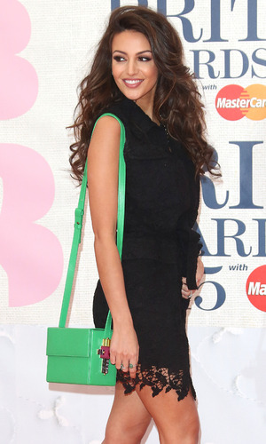 Michelle Keegan at The Brit Awards 2015 (Brits) held at the O2 - Arrivals: 02/25/2015 London, United Kingdom