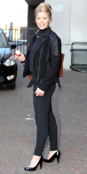 Gemma Atkinson outside ITV studios, Southbank, London 11 March