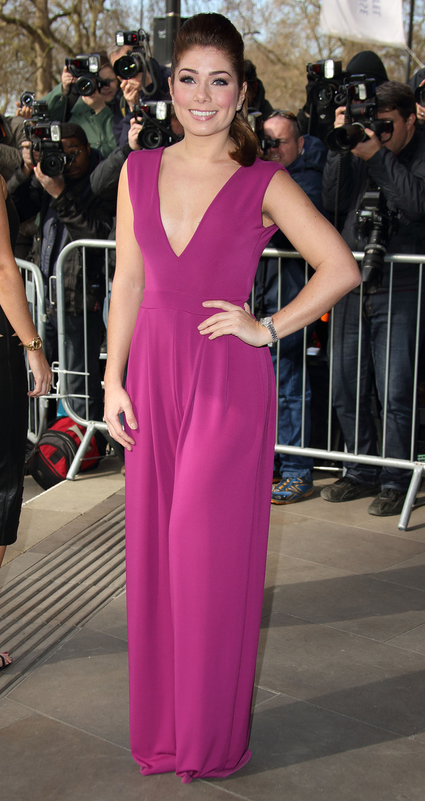 Nikki Sanderson attends the TRIC Awards at Grosvenour House Hotel on March 10, 2015 in London, England.