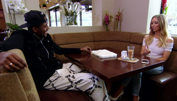 Vas Morgan becomes emptional when talking to Lauyren Pope about Jasmin Walia and his sexualty on 'The Only Way Is Essex' - 03/09/2015