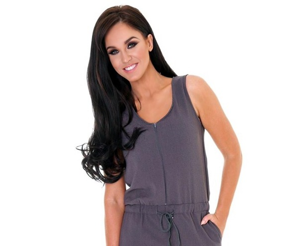 Vicky Pattison in jumpsuit for Honeyz.com collection