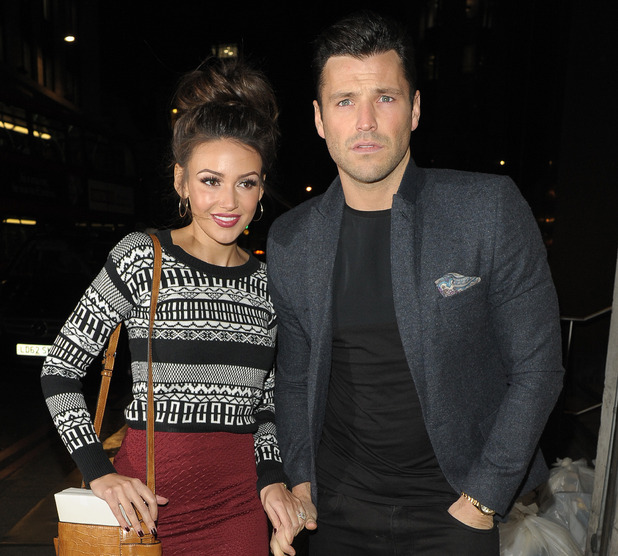 Mark Wright and Michelle Keegan at The Sun Bizarre party held at Steam & Rye - 03/02/2015.