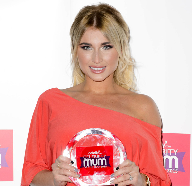Billie Faiers wins icelolly.com's Celebrity Mum of The Year 2015