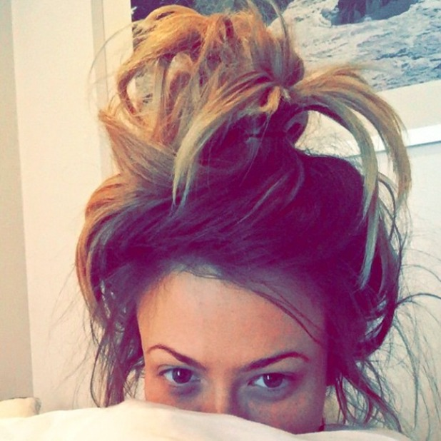 Geordie Shore's Holly Hagan shows off fresh face after just waking up, 14 March 2015