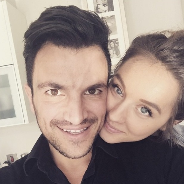 Peter Andre and Emily MacDonagh pose in new selfie over the weekend (7 March 2015).