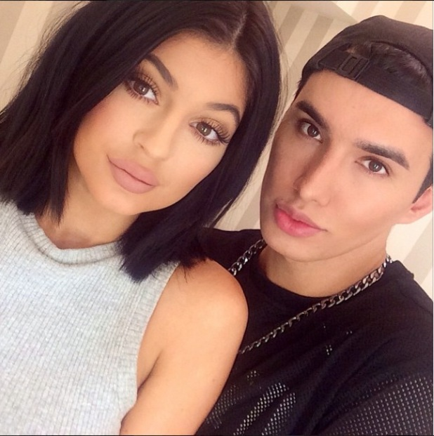 Kylie Jenner wearing NYC Soft Matte Lip Cream, 7/3/15