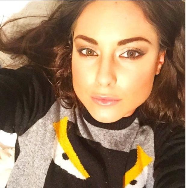 Louise Thompson selfie - 12/3/15