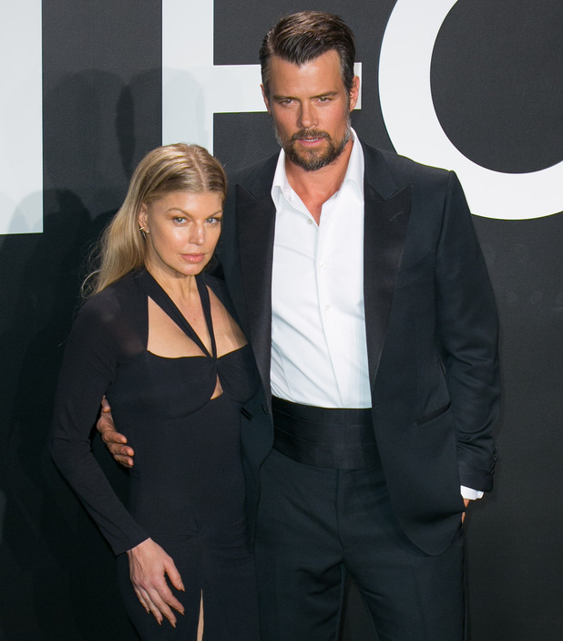 Fergie andJosh Duhamel at the Tom Ford Autumn/Winter 2015 Womenswear Collection Presentation at Milk Studios - Red Carpet Arrivals - 02/20/2015. Los Angeles, United States.