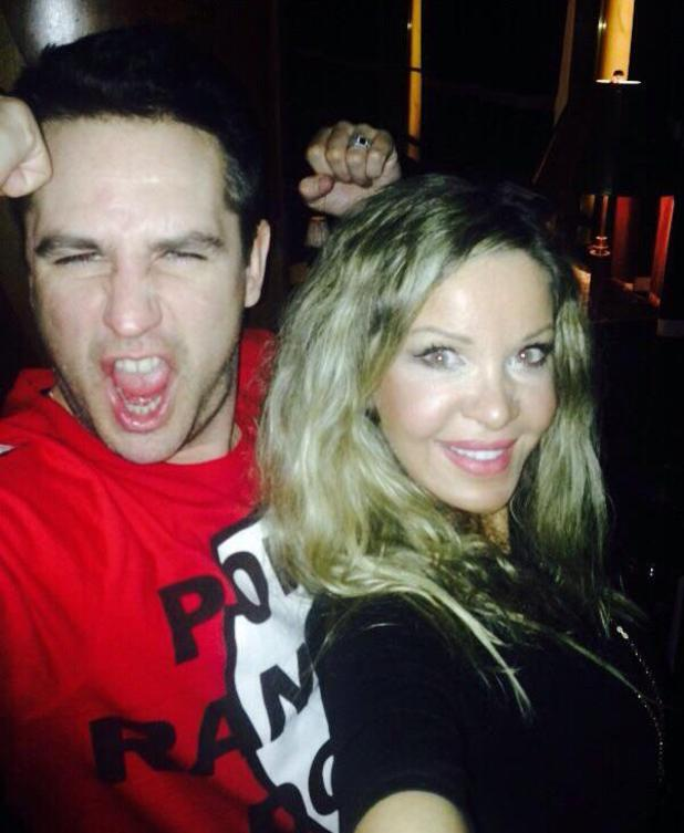 CBB stars Alicia Douvall and Kavana reunite for a night out - 7 March 2015.