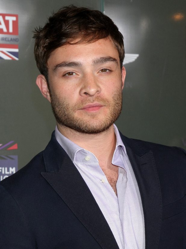 Ed Westwick at the GREAT British Film Reception Honoring British Academy Award nominees 02/21/2015 West Hollywood, United States