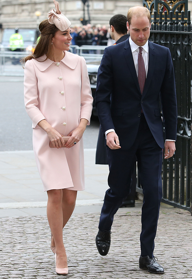 Catherine, Duchess of Cambridge and Prince William, Duke of Cambridge attend the Observance for Commonwealth Day Service At Westminster Abbey on March 9, 2015 in London, England. (Photo by Chris Jackson/Getty Images)
