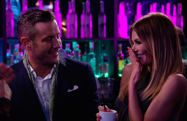 TOWIE publicity still for episode 11 March 2015: Chloe and Elliott
