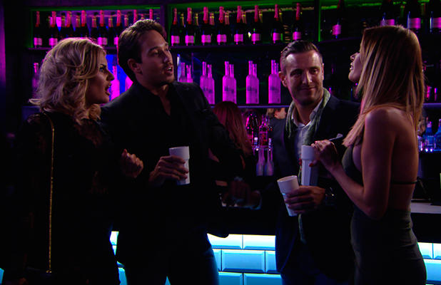 TOWIE publicity still for episode 11 March 2015: Danielle talks about Tommy