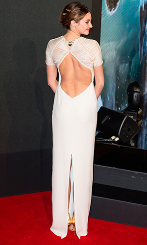 Shailene Woodley, Insurgent' world premiere held at the Odeon Leicester Square - Arrivals 11 March 2015