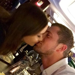 Dan Osborne kisses Jac Jossa on a date night, 21 March