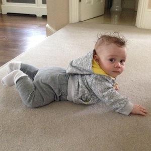 Cheryl Fernandez-Versini shares new photo of Kimberley Walsh's baby son Bobby - 15 March 2015/