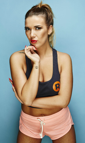 Ibiza Weekender promo photo of head rep Imogen Townley - March 2015.