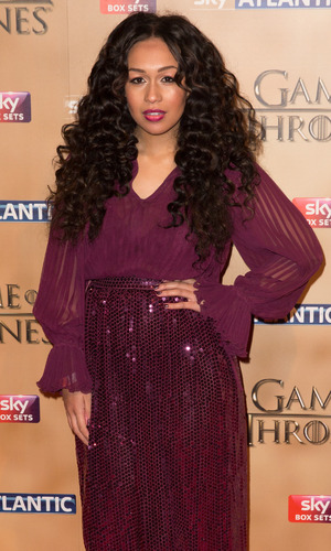 Rebecca Ferguson at the World premiere of 'Game of Thrones' Season 5 held at the Tower of London - Arrivals 03/18/2015 London, United Kingdom
