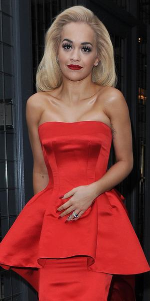 Rita Ora attends Coca Cola 100 year anniversary event in Soho, London 19 March