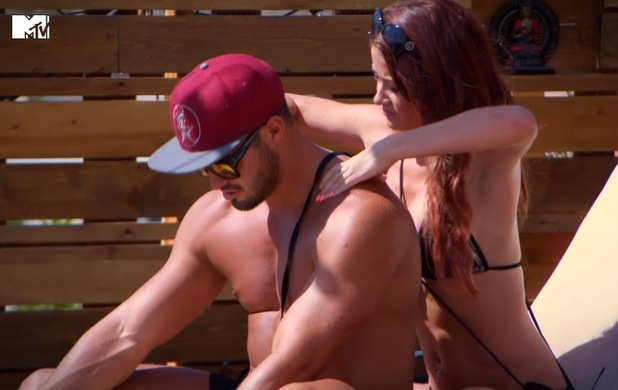 Rogan O'Connor and Jess Impiazzi, Ex On The Beach, MTV 17 March