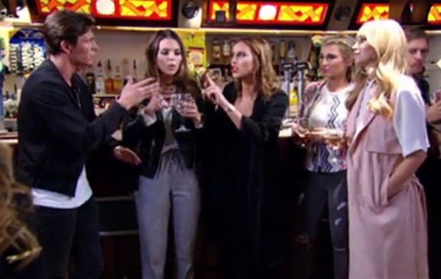 Lauren Pope, Jake Hall and Ferne McCann clash, TOWIE Episode 7, ITVBe 15 March