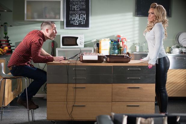 Hollyoaks, Grace makes Trevor do a lie detector, Wed 18 Mar