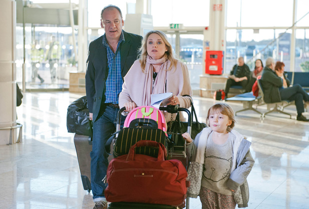 Emmerdale, Nicola and Jimmy go to Dubai, Tue 24 Mar