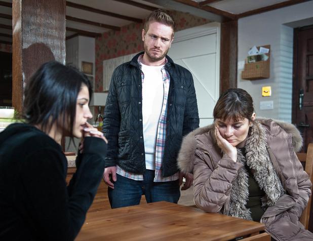 Emmerdale, Alicia tells Chrissie the truth, Fri 20 Mar