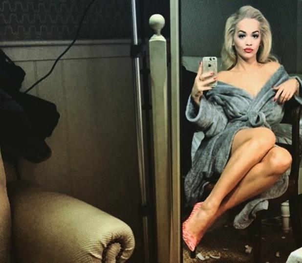Rita Ora shows off Sophia Webster Coca Cola shoes, Instagram 19 March