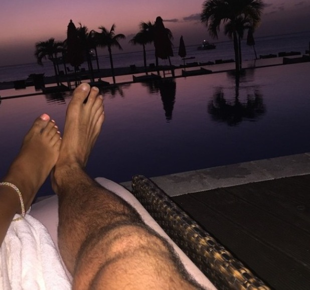Mark Wright shares holiday snaps with fiancée Michelle Keegan from St Vincent - 13 March 2015.