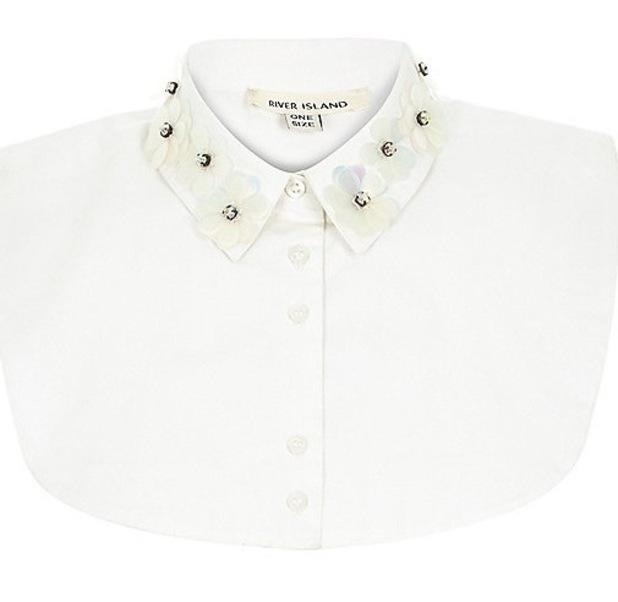 River Island 3D emebellished collar, £15