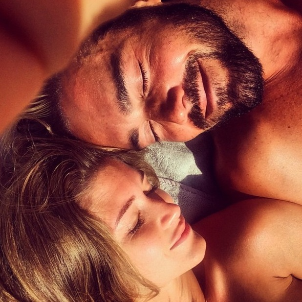 Spencer Matthews and Lauren Hutton take selfie in Marrakech, Instagram 20 March