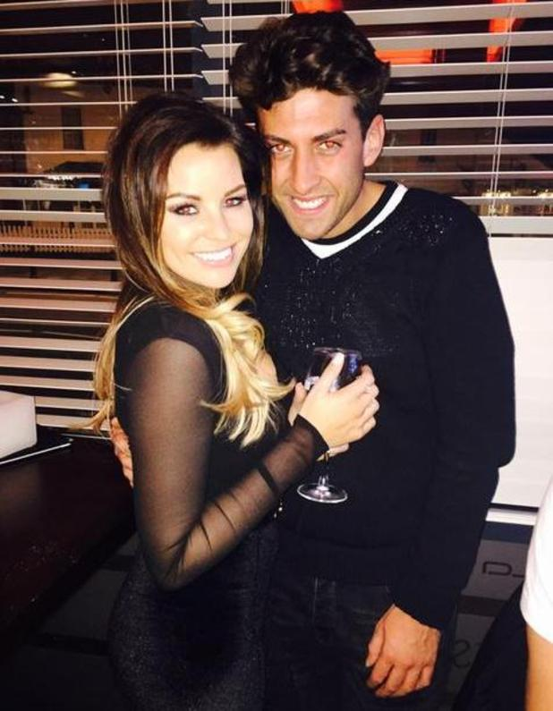 Jessica Wright enjoys night out with Dan Edgar and James 'Arg' Argent in Essex - 16 March.
