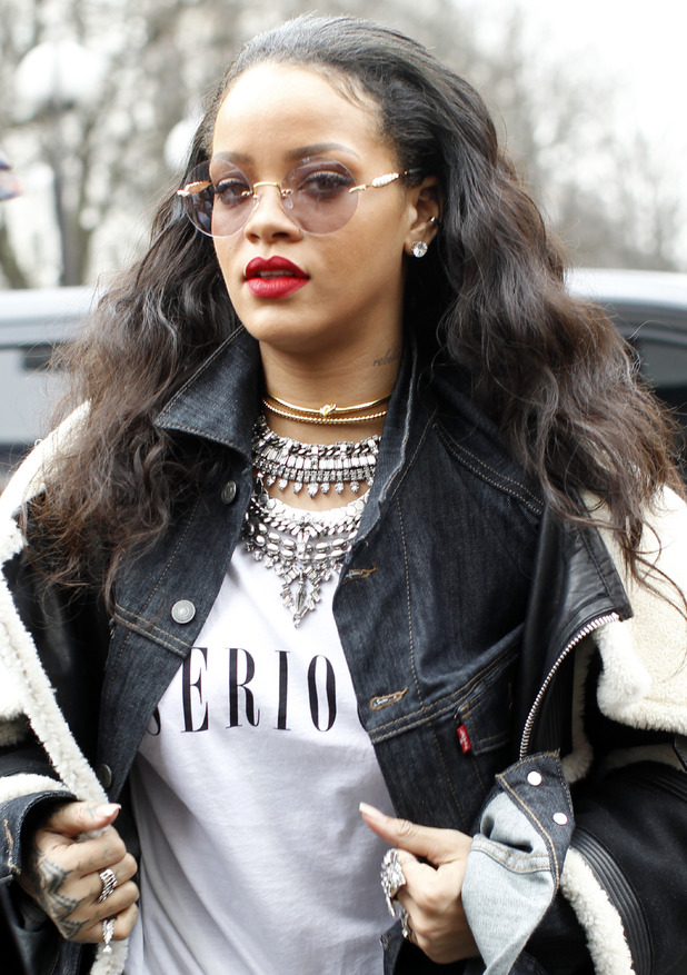 Rihanna out and about in Paris, France - 03/09/2015.