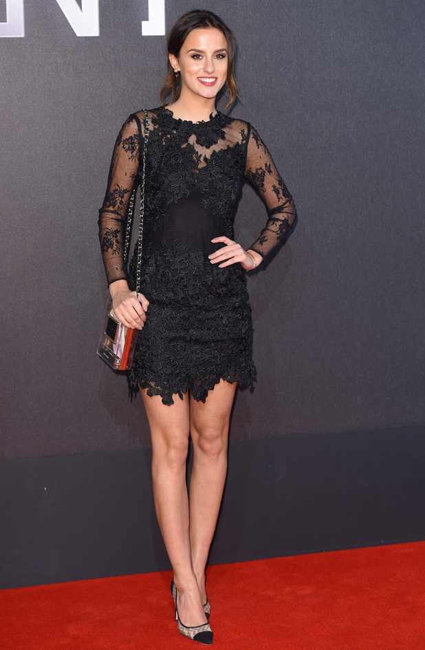 Lucy Watson attends Insurgent premiere, London 11 March