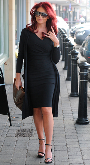 Amy Childs launches 3D Lipo at her salon in Brentwood, Essex, 17 March 2015