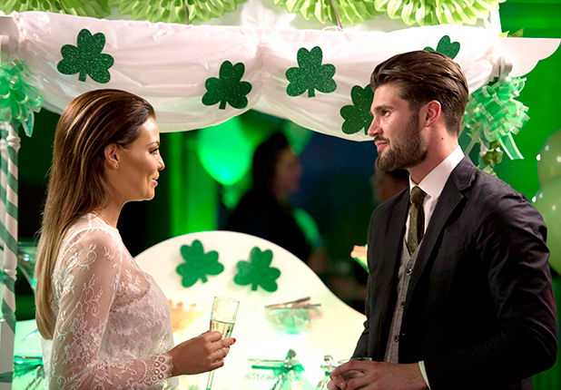 'The Only Way is Essex' cast filming, Britain - 15 Mar 2015 Jessica Wright and Dan Edgar