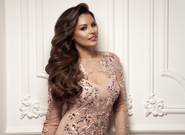 Jessica Wright models for Whitney Marie hair extensions brand