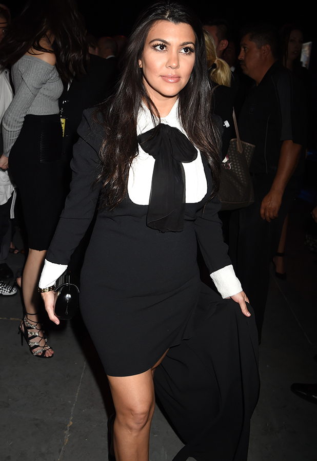 TV personality Kourtney Kardashian attends the after party for The Comedy Central Roast of Justin Bieber at Sony Pictures Studios on March 14, 2015 in Los Angeles, California.